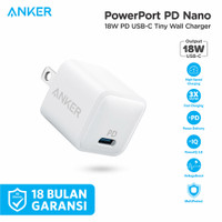 Wall Charger Anker Powerport Nano 18W PD - A2716