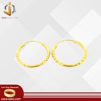 WAN jewellery - Anting anak/baby emas asli kadar 375