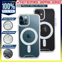 Case iPhone 12 Pro Max 12 Pro Mini OCTACASE Dual Tough Clear Casing