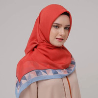 Hijab Kerudung Segi Empat FLAGY Scarf ZOYA Original