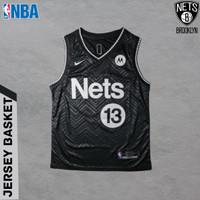 Baju Jersey Basket Swingman NBA James Harden Brooklyn Nets Earned Edt
