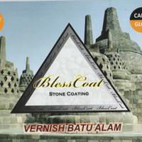 Cat Vernis Batu Alam Blesscoat - Candi Gloss