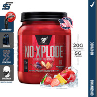 BSN NO XPLODE 60 SERVING - FRUITPUNCH