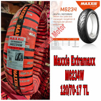 Ban Maxxis 120/70-17 M6234 Extramaxx FREE PENTIL