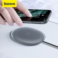 BASEUS JELLY WIRELESS CHARGER PAD FAST CHARGING IPHONE / PODS