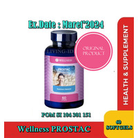 Wellness Prostac Isi 60 Softgels For Frostate And Kidney Care