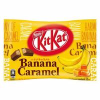 KITKAT Banana Caramel Isi 12 Pcs (Made in Japan)