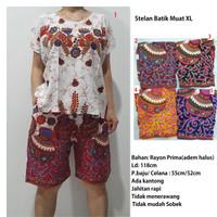 Stelan Batik Celana Batik Kulot JUMBO