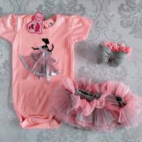 Baju bayi Jumper setelan Newbron Perempuan cewek Rok balon set