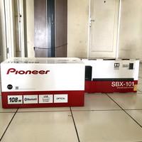 PIONEER SOUNDBAR SBX 101 with WIRELESS SUBWOOFER