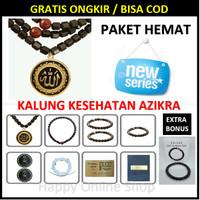 TERBARU!! AZHIKRA - AZIKRA Kalung Kesehatan - Tasbih Azikra - Original