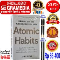 Buku Atomic Habit - Perubahan Kecil Yg Memberikan Hasil Luar Biasa