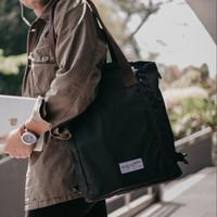 KAITO BLACK MNM x ARCIO  Tas Ransel Pria Jinjing Backpack Tote Bag ORI