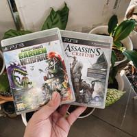 Plants vs Zombies & Assasins Creed 3 BD PS3