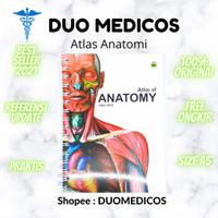Buku Atlas berwarna Anatomi Tubuh Manusia