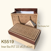 Kotak Kue K55 Bolu Gulung , Lapis Legit Dus + Paper Bag