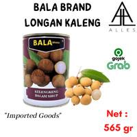 Bala Longan In Syrup / Buah Longan Kaleng / Buah Kelengkeng 565 gram
