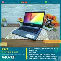 Asus Vivobook A407UF Core i7 gen 8 VGA NVIDIA MX130 Mulus