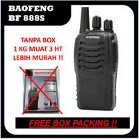 HT Baofeng 888S TANPA BOX + Earset Single Band UHF / HT Murah BF 888 S