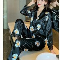 Piyama Satin Import 751 Pajamas PP Bunga Anak Perempuan Remaja Wanita