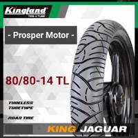 Ban Tubles Ring 14 80/80 90/80 100/80 TL King Jaguar Kingland