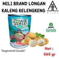 Mili Longan Buah Kaleng / Longan Kaleng / Buah Kelengkeng 565 gr
