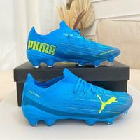 Sepatu Bola Puma Ultra 1.1 Energy Blue FG