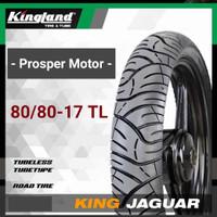 Ban Tubles Ring 17 80/80 90/80 100/80 TL King Jaguar Kingland