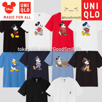 UNIQLO x Disney MICKEY MOUSE MFA ICONS UT T-SHIRT KAOS PRIA JASTIP
