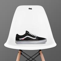 Vans Old Skool Black & White Pro Skate Shoes
