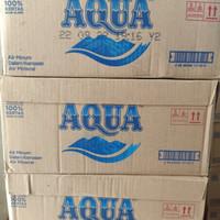 AQUA Botol Kecil 330ml Air Minum