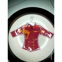 gantungan miniatur baju taruna AKPOL gantungan mobil tinngal tem