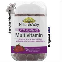 Nature's Way Adult Vita Gummies MultiVitamin Adult 120 Natures Ori