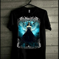 Kaos Distro Metal /Anastasya sisi gelap / gothic metal Indonesia - L