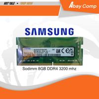 RAM Laptop sodimm 8GB DDR4 3200 Mhz SAMSUNG By: MetroData (Lifetime)