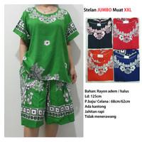Stelan Batik Celana Kulot Baju Tidur Batik