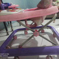 Baby Walker Family Pink Bekas Seken