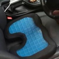 ALAS bantal duduk memory foam + Cooling Gel berdesign Premium