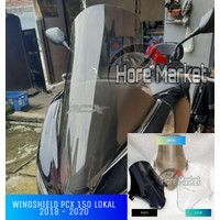 Windshield / Visor New Honda PCX Lokal Tinggi Aksesoris Motor