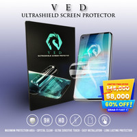 Anti Gores Hydrogel IPHONE 12 ANTI BLUE LIGHT - VED ULTRASHIELD - DEPAN, FULL COVER