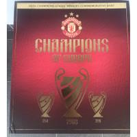 Manchester United 2008 Champions League Commemorative Shirt