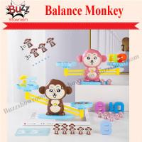 Monkey Balance Math Toy Game Mainan Edukasi Anak Belajar Timbangan