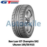 Ban Luar GT 195/50 R15 Champiro SX2 Tubeless Slalom Drift Grip Tire