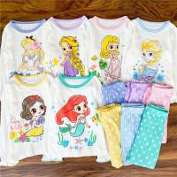 Piyama Baju Tidur Anak Princess Katun Import