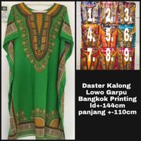 Daster Batik Lie Ing Hengky Baju Tidur Rayon Tebal Kalong Bangkok