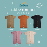 LITTLEHOOP Abbe Romper Rib Reeb Knit Baju Premium Anak Bayi