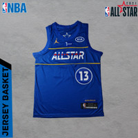 Baju Jersey Basket Swingman NBA ALLSTAR James Harden All Star 20/21