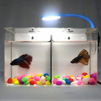 Paket Lampu Led Usb Plus Adaptor/Lampu Led Aquarium mini Cupang