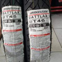 paketan ban luar bridgestone battlax bt46 100/90-18 & bt45 100/80-18