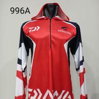 Kaos JERSEY Baju Sepeda Santai Balap Motor Bola Mancing Hoodie Jogging - HZ 996A, L